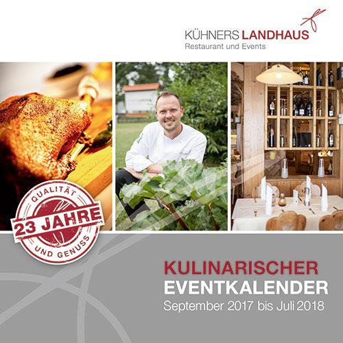 Kühners Landhaus Event Kalender